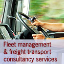 Road transport , distribution, fleet management consultancy services