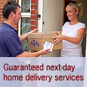 Guaranteed next day home delivery